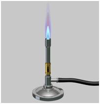 چراغ گازی(چراغ بونزن)