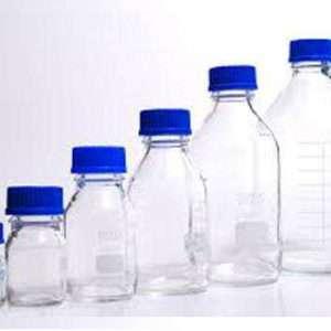 بطری در آبی