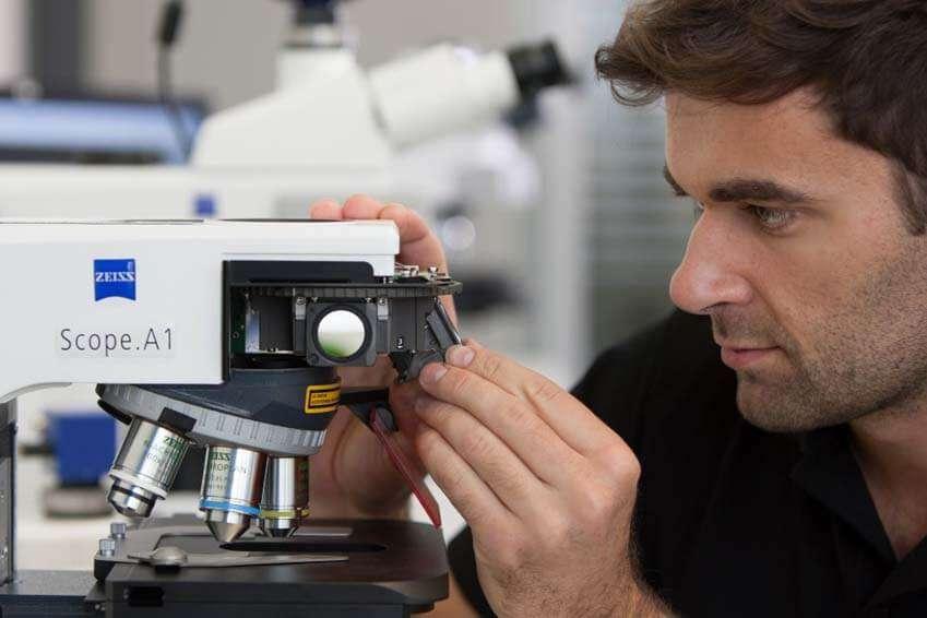 اصول نگهداری میکروسکوپ